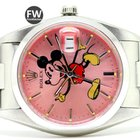 Rolex Date Mickey Mouse Pink (Aftermarket)