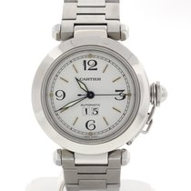 Cartier Pasha Big Date Large 35mm Automatic Steel Watch W31058M7