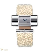 De Grisogono Lipstick 18K White Gold Ladies Watch