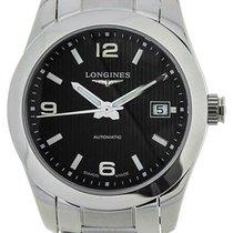 Longines Conquest Classic Black Dial