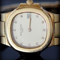 Patek Philippe Nautilus Lady Gold  Diamond Index Box&Paper
