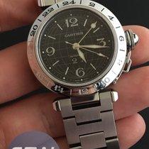 Cartier Pasha C Grande date GMT