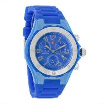 Michele Tahitian Jelly Bean Blue Ladies Quartz Watch MWW12F000074