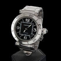 Cartier PASHA STEEL 40 MM AUTOMATIC MEN SIZE
