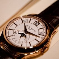 Patek Philippe [NEW] SA Complications 5205R Rose Gold White Dial