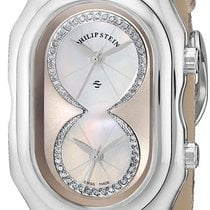 Philip Stein Womens 11-ICHW-PGGL Prestige Diamond Dial Watch