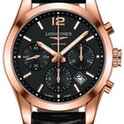 Longines Conquest Classic Automatic Chronograph 41mm Mens Watch