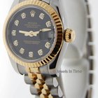 Rolex 179173 Datejust Gold/Steel Diamond Automatic Womens...