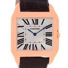 Cartier Santos Dumont Mens 18k Rose Gold Watch W2006951