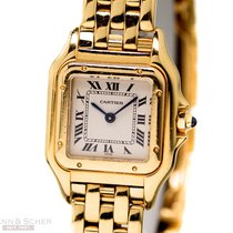 Cartier Panthere Lady Ref-W25022 18k Yellow Gold Bj-1990