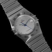 Omega Constellation Mens Bracelet Watch, Quartz, Date, 35mm - SS