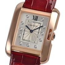 Cartier- Tank Anglaise MM Quarzwerk, Ref. WJTA0009