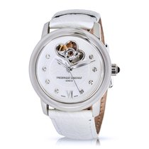 Frederique Constant Double Heart Diamond & Steel Automatic...