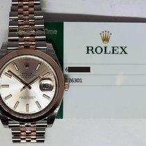 Rolex NEW Rolex Datejust 41 18k Everose Gold & Steel Watch...