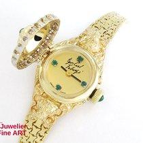 Fabergé 14K/585 Gelbgold - Smaragde - 24 Diamanten ca. 0,6ct -...