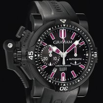 Graham Chronofighter Oversize · Diver Deep Purple 2OVEZ.B24A.K10N