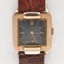 Tavannes vintage 1935/40 unisex 18k pink gold