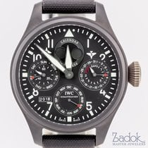 IWC Big Pilot's Watch Perpetual Calendar Top Gun Ceramic 48mm...