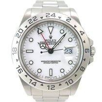 Rolex Explorer II 16570 White dial with Rolex box