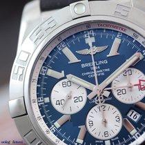 Breitling Men's Chronomat GMT Steel on Rubber White Eye...