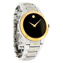 Movado S.E. Sports Edition Mens Two Tone Swiss Quartz Watch...