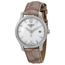 Tissot Tradition Mother of Pear Dial Ladies Watch T0632101711700