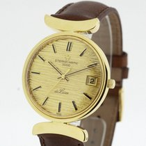 Eterna - MATIC 3000 DeLuxe solid 18K Yellow Gold Automatic...