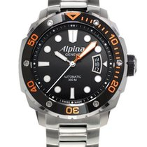 Alpina Extreme Orange Diver Stahlband LP 1.395€ VHB