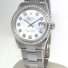 Rolex Datejust Stainless Steel MOP Diamond Dial/Bezel Midsize...