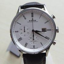 Edox . Les Vauberts Chronograph Automatik  NEW  FULL SET