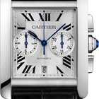 Cartier Tank MC Chronograph Automatic Silver Dial W5330007 T