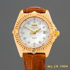 Breitling Wings 18 K GOLD Mother of Pearl Dial & Diamonds...