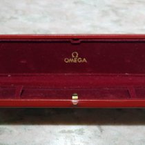 Omega vintage red leather watch box for chrono and other models