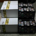 Tissot stock of 10 watches boxes n. 5 red and n.5 blu newoldstock