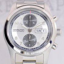 Hamilton Khaki Field Automatik Chronograph Daydate Stahlband Top
