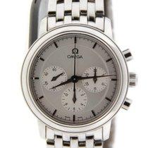 Omega DeVille Prestige Chronograph Stainless Steel