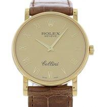 Rolex Men's Rolex Cellini 18K Yellow Gold 5115