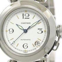 Cartier Pasha C Steel Automatic Unisex Watch W31015m7 (bf094244)