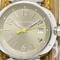 Louis Vuitton Polished Louis Vuitton Tambour Multicolor Quartz...