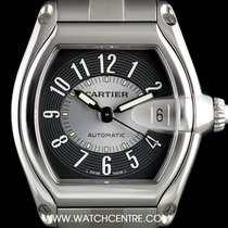 Cartier Stainless Steel Two Tone Arabic Dial Roadster Gents...