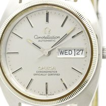 Omega Vintage Omega Constellation Day Date Automatic Mens...