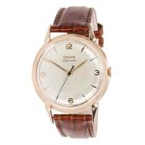 Doxa Vintage 129 Women's Watch in 18K Rose Gold