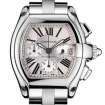 Cartier Roadster Chronograph Stainless Steel Men`s Watch