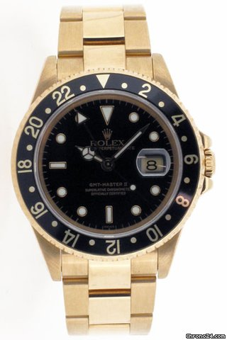 Rolex Oyster Perpetual GMT Master 2. Model No 16718