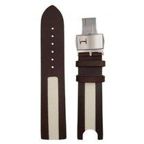 Hamilton Lederband braun inkl. Doppelfaltschl. 22/20 mm...