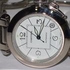 Cartier Pasha Automatic 18K Solid White Gold