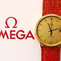Omega SEAMASTER GELB GOLD 18K 750 ELEGANTE HOCHFEINE ARMBANDUHR