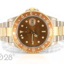 Rolex GMT Master II Tigerauge Eye of the Tiger 16713 Stahl / Gold