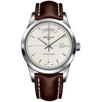 Breitling Men's A4531012/G751/437X Transocean Day & Date