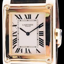 Cartier Tank à vis Collection privée en or jaune 18k